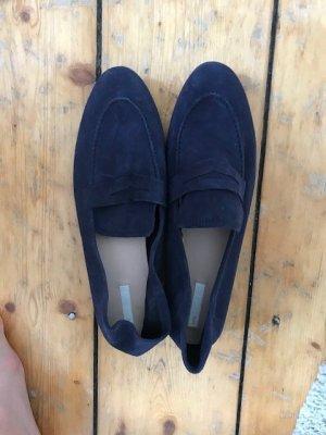 H&M wildleder slippers