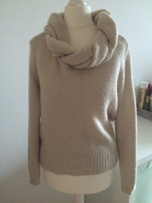 H&M Winter Pullover Pulli 38 M beige