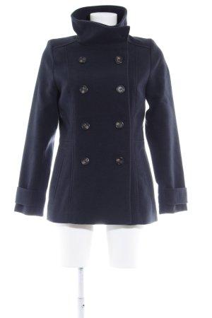 H&M Winterjacke dunkelblau Elegant