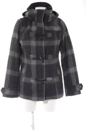 H&M Winterjacke schwarz-grau Casual-Look
