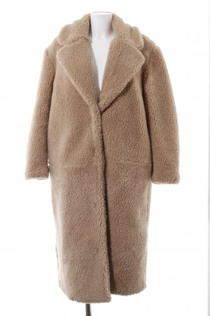 H&M Wintermantel beige Street-Fashion-Look
