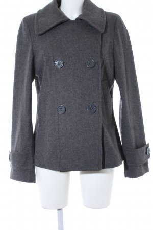 H&M Wintermantel grau meliert Casual-Look