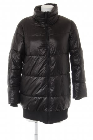 H&M Wintermantel schwarz Casual-Look