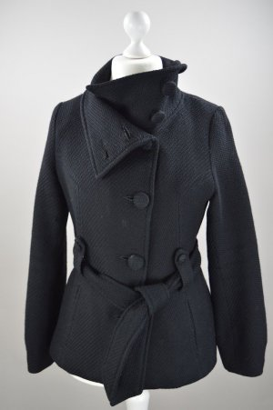 H&M Wintermantel schwarz Größe 38