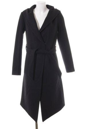 H&M Wintermantel schwarz schlichter Stil