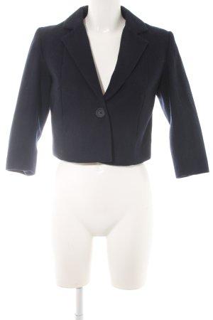 H&M Woll-Blazer dunkelblau Casual-Look