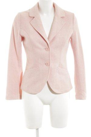 H&M Woll-Blazer pink Business-Look