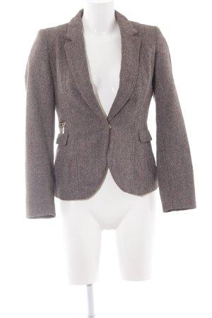 H&M Wool Blazer herringbone pattern business style