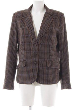 H&M Wool Blazer glen check pattern Brit look