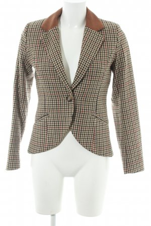H&M Wool Blazer houndstooth pattern business style