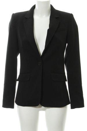 H&M Woll-Blazer schwarz Casual-Look
