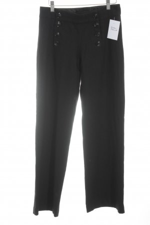 H&M Woolen Trousers black business style