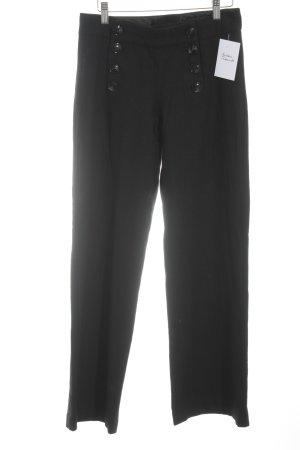 H&M Wollen broek zwart zakelijke stijl