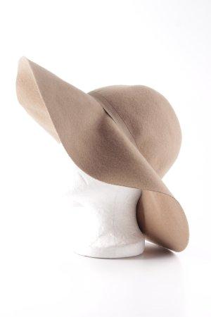 H&M Chapeau en laine beige style classique