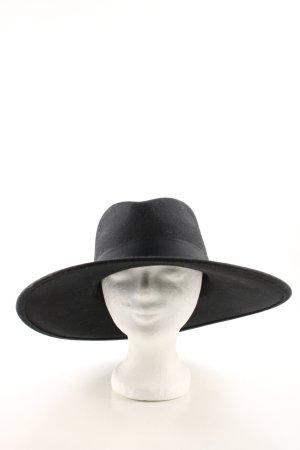 H&M Wollhut schwarz Casual-Look