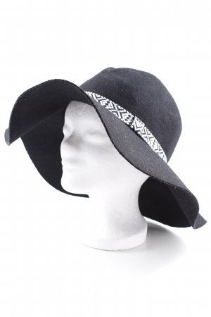 H&M Woolen Hat black simple style