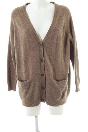 H&M Wool Jacket brown casual look