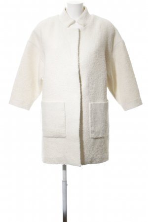 H&M Wool Jacket natural white casual look