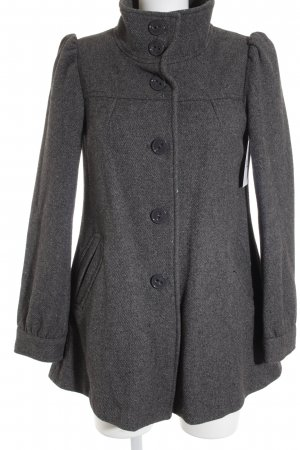 H&M Wolljacke dunkelgrau Business-Look