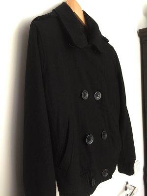 H&M Wolljacke schwarz 42/44
