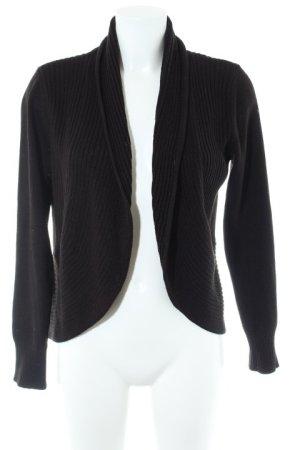 H&M Wolljacke schwarz Casual-Look