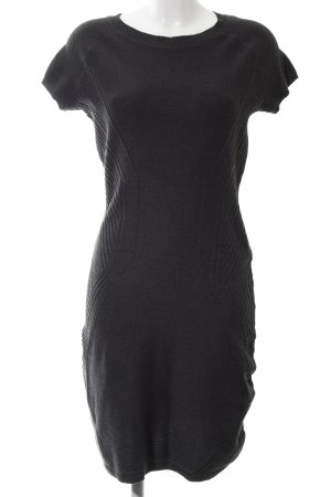 H&M Vestido de lana negro estilo «business»