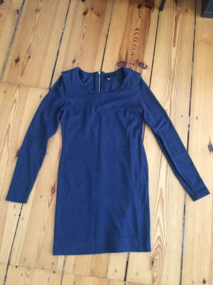 H&M Wollkleid - blau - Größe 36