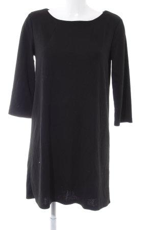 H&M Vestido de lana negro look casual