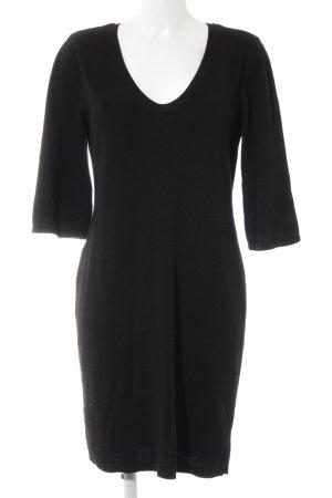 H&M Vestito di lana nero stile casual