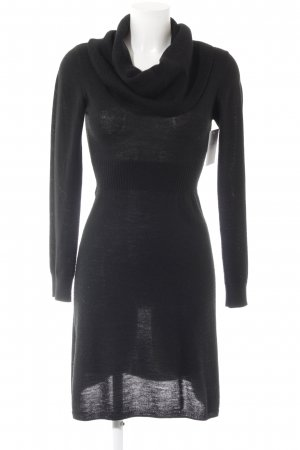 H&M Wollkleid schwarz Casual-Look