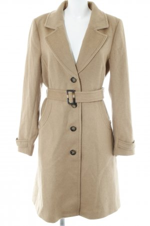 H&M Wollen jas beige casual uitstraling