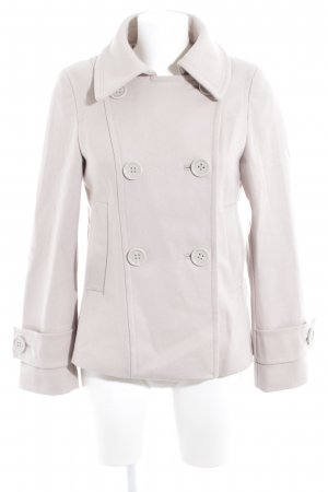 H&M Wollmantel creme Casual-Look