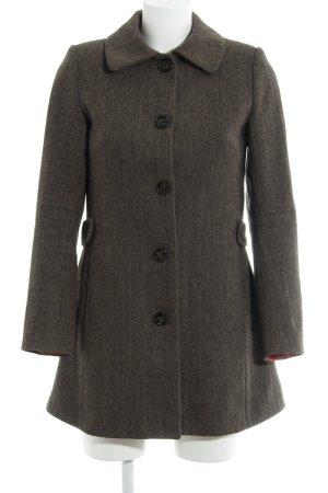 H&M Manteau en laine motif à chevrons style anglais