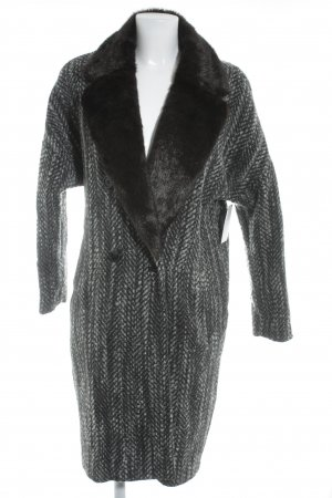 H&M Wool Coat flecked casual look