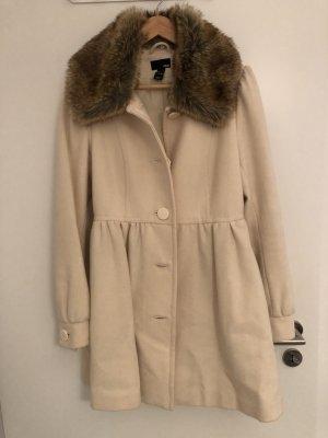 H&M Abrigo de lana multicolor