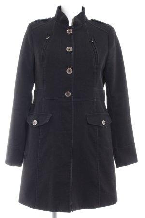 H&M Abrigo de lana negro elegante