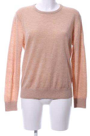 H&M Jersey de lana nude moteado look casual