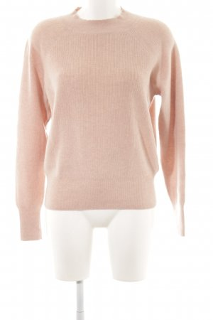 H&M Wollpullover apricot Casual-Look