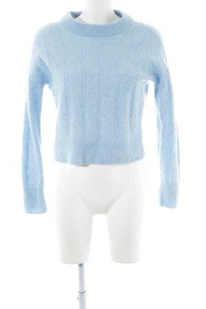 H&M Jersey de lana azul estilo «business»
