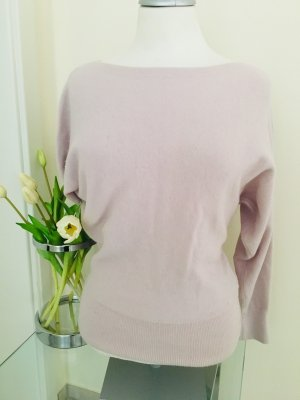 H&M Jersey de lana rosa