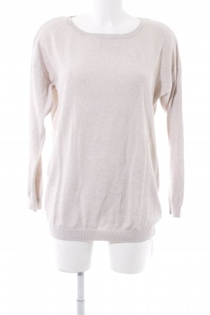 H&M Wollpullover hellbeige Casual-Look