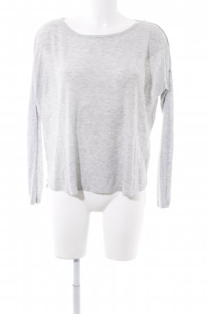 H&M Wollpullover hellgrau Casual-Look