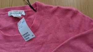 H&M Wollen trui roze-neonroos