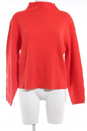 H&M Wollpullover rot Casual-Look