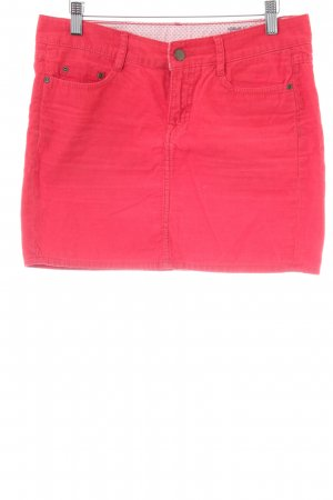 H&M Wollen rok rood casual uitstraling