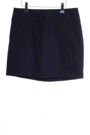 H&M Wollrock blau Business-Look