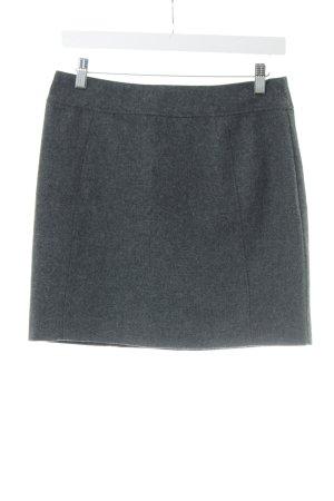 H&M Wool Skirt light grey business style