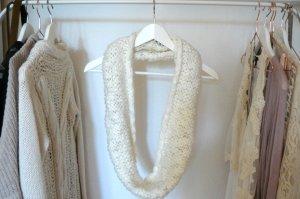 H&M Bufanda tubo blanco Acrílico