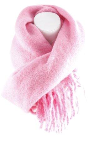 H&M Wollschal pink Kuschel-Optik