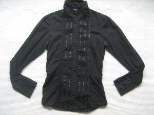 H&M wundeschöne bluse top zustand spitze gr. 34 xs